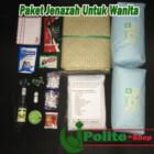 paket Super tebal kain kafan perlengkapan jenazah wanita