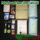 Paket Komplit Kain kafan Super tebal untuk jenazah pria